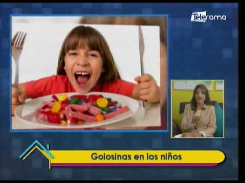 Golosinas en los niños