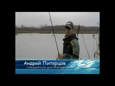 андрей питерцов ловля на воблеры видео