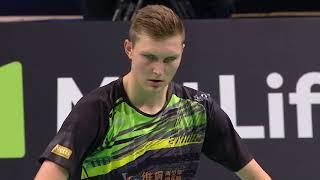 Video Danisa Denmark Open 2017 | Badminton QF M4-MS| Kidambi Srikanth vs Viktor Axelsen MP3, 3GP, MP4, WEBM, AVI, FLV September 2018