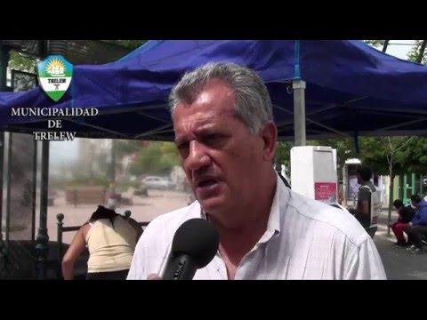 "Programa ""Carpa Saludable"" en la peatonal"