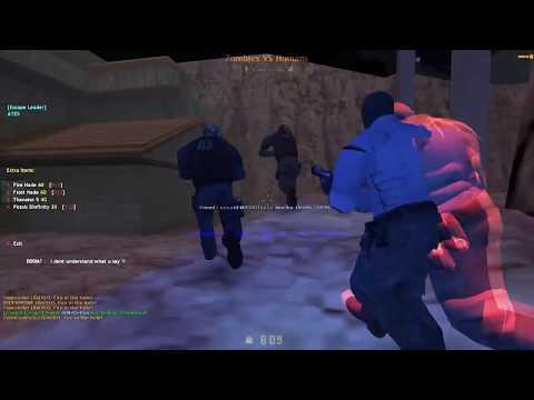 Counter Strike 1.6 Server Zombie Escape 2018