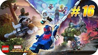 LEGO Marvel Super Heroes 2  Gameplay Español  Capitulo 16  Aventura Arqueológica Xbox One X