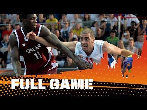 Чемпионат мира по баскетболу 3х3. Видео финального матча среди мужчин. Сербия - Катар