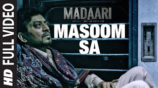 Nonton Masoom Sa Full Video Song    Madaari   Irrfan Khan  Jimmy Shergill   T Series Film Subtitle Indonesia Streaming Movie Download