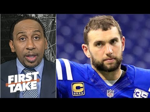 Video: Andrew Luck has enough weapons on the Colts' offense to succeed – Stephen A. | First Take