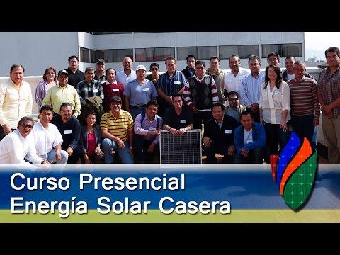 Recuento del Primer Curso Presencial de Paneles Solares