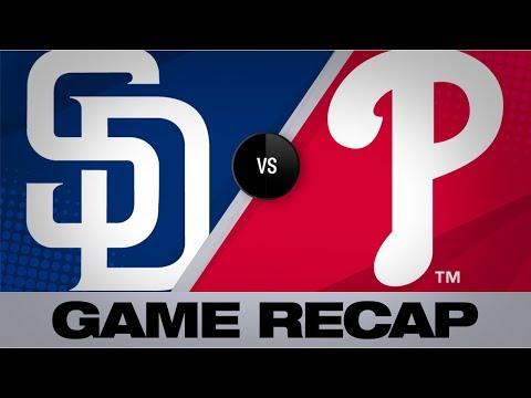 Video: Lamet, 'pen help Padres down Phils, 5-3 | Padres-Phillies Game Highlights 8/17/19