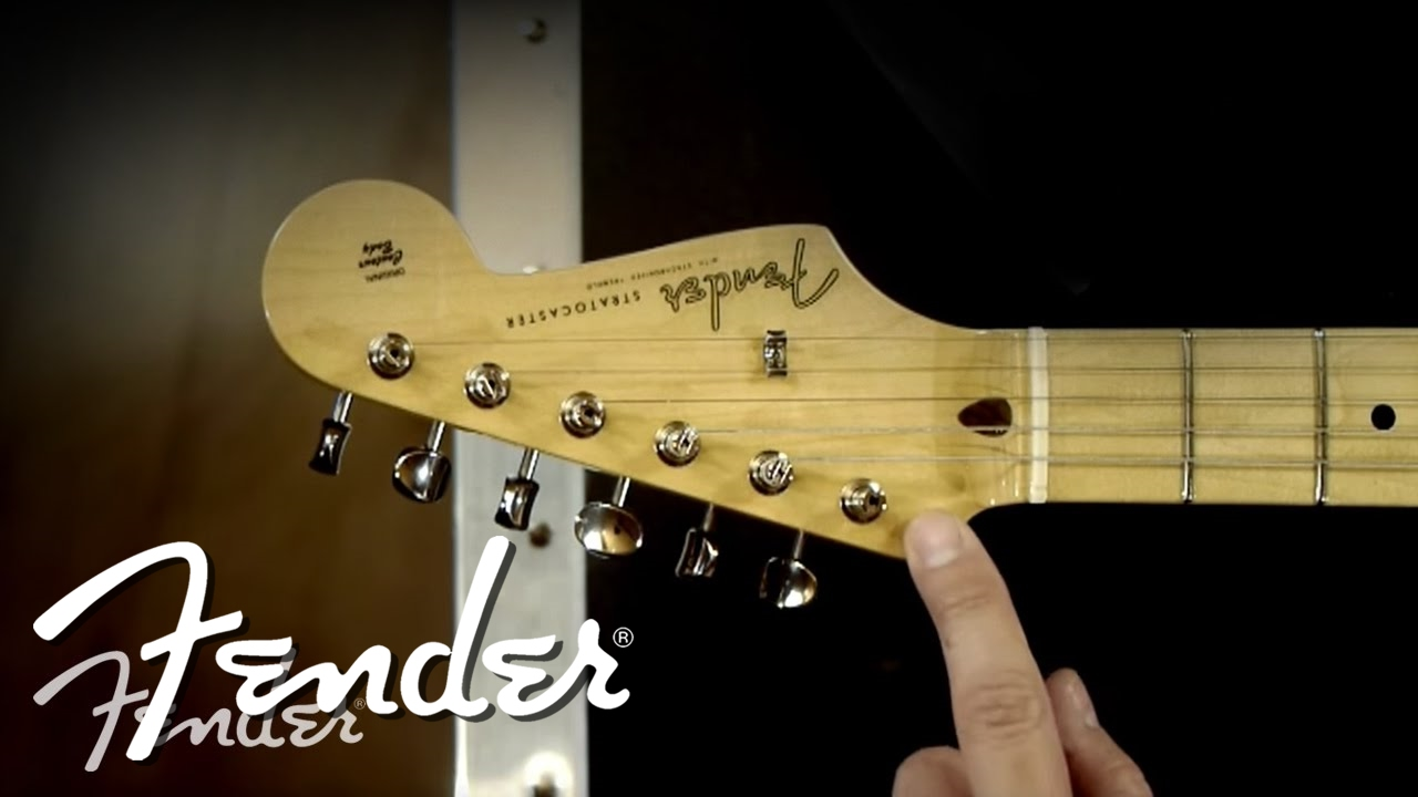 How To | Changing Electric Guitar Machine Heads | Fender