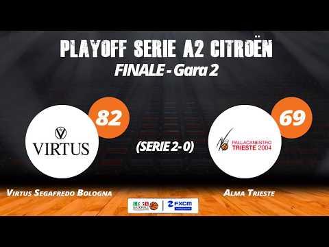 A2 Playoff – Finale Gara2, gli highlights di Virtus-Trieste