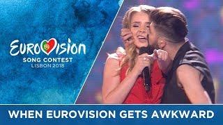 Video When Eurovision gets AWKWARD!! MP3, 3GP, MP4, WEBM, AVI, FLV Mei 2019