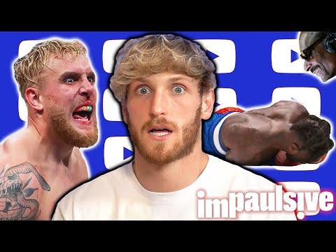 Logan Paul Criticizes Jake Paul's Vicious Nate Robinson KO - IMPAULSIVE EP. 239