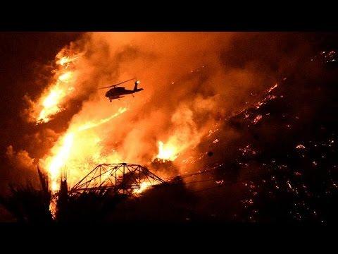 ΗΠΑ: Νέα πύρινα μέτωπα στην Καλιφόρνια