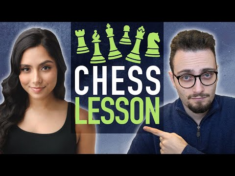 Michelle Khare's 1st Chess Lesson Ever