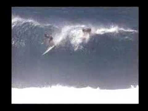 """Sunset Surf Craze"" Classic Big Wave wipeouts - CCTV Video placeholder"
