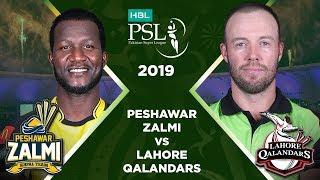Match 7: Full Match Highlights Lahore Qalandars vs Peshawar Zalmi | HBL PSL 4 | 2019