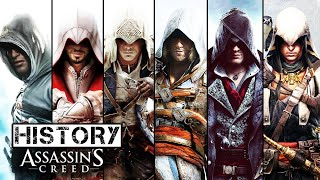 Here is the history of Assassin's Creed games, or you can say Assassin's Creed Evolution from 2007 to 2017. We listed all of the Assassin's Creed games in one video with order, platforms and year. What is the best Assassin's Creed games you have played? Let us know in the comment down below.➢ History/Evolution of Far Cry : https://www.youtube.com/watch?v=Uke8mv2yyMQ♦ List ♦■ Assassin's Creed   Year : 2007   Platform : PC, Xbox 360, PlayStation 3■ Assassin's Creed II   Year : 2009   Platform : PC, Xbox 360, PlayStation 3, Mac OS X■ Assassin's Creed: Brotherhood   Year : 2010   Platform : PC, Xbox 360, PlayStation 3, Mac OS X■ Assassin's Creed: Revelations   Year : 2011   Platform : PC, Xbox 360, PlayStation 3■ Assassin's Creed III   Year : 2012   Platform : PC, Xbox 360, PlayStation 3, Wii U■ Assassin's Creed IV: Black Flag   Year : 2013   Platform : PC, PS3, PS4, Xbox 360, Xbox One, Wii U■ Assassin's Creed: Rogue   Year : 2014   Platform : PC, Xbox 360, PlayStation 3■ Assassin's Creed: UnityYear : 2014   Platform : PC, Xbox One, PlayStation 4■ Assassin's Creed: SyndicateYear : 2015   Platform : PC, Xbox One, PlayStation 4■ Assassin's Creed: OriginsYear : 2017   Platform : PC, Xbox One, PS4, Xbox One X, PS4 PRO♦ Follow us ♦■ Facebook : https://www.facebook.com/TechMasterTricks■ Twitter : https://twitter.com/TechMasterTrick■ Google+ : https://plus.google.com/+TechMasterTricks♬ Music ♬  ■ Intro : MASAZONDA - Assassins Creed■ Outro : Kasger & Limitless - Miles Away♦ Tag ♦history of assassin's creedhistory of assassin's creed 2017evolution of assassin's creed 2017assassin's creed evolutionassassin's creed historyassassin's creedassassin's creed originsall assassin's creed gameslist of assassin's creed gameshistory of assassin's creed gameslist of assassin's creed games 2017assassin's creed origins gameplayassassin's creed origins trailerassassin's creed origins e3 gameplay trailerassassin's creed origins E3 2017 official trailer