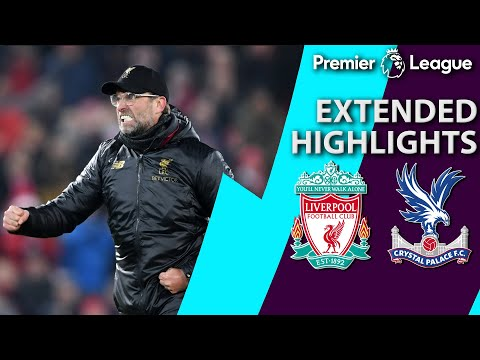 Video: Liverpool v. Crystal Palace | PREMIER LEAGUE EXTENDED HIGHLIGHTS | 1/19/19 | NBC Sports
