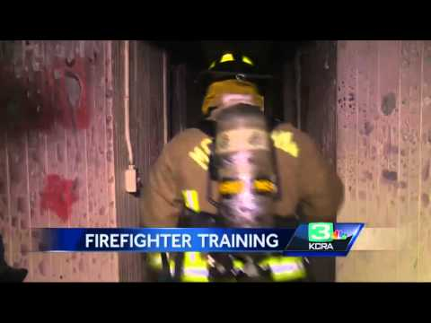Firefighters train on abandoned homes in Suisun Valley