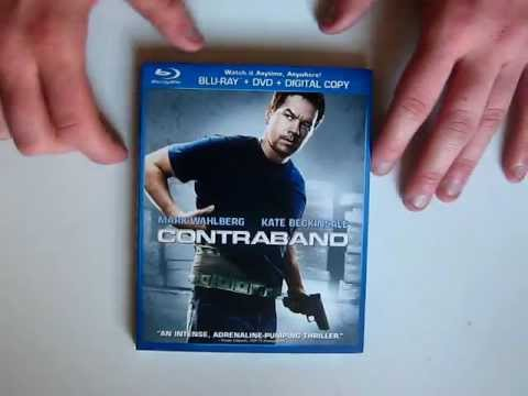 Contraband Blu Ray Unboxing