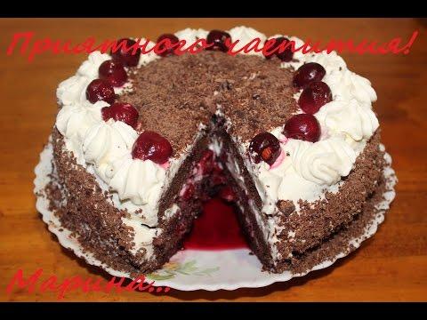 Рецепт торта из черного шоколада 158