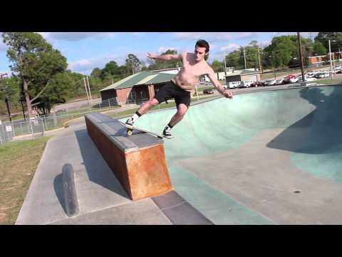 Garner Fisher Skating at Tobey Skatepark in Memphis, TN