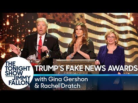 Trumps Fake News Awards