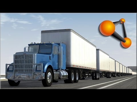BeamNG Drive Insane Trucking Crashes #1 - Insanegaz