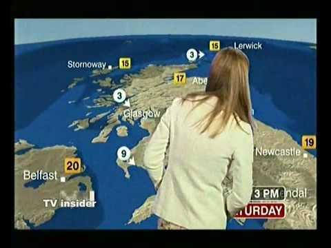 BBC weather mystery head blooper