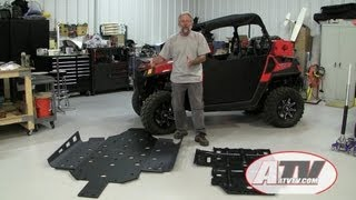 9. ATV Television - Installing Trail Armor Skidplate on Polaris RZR 570