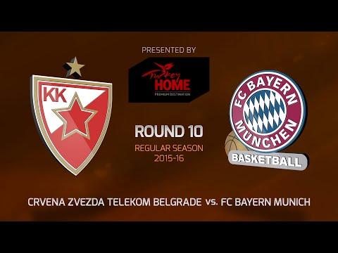 Highlights: RS Round 10, Crvena Zvezda 85-76 FC Bayern Munich