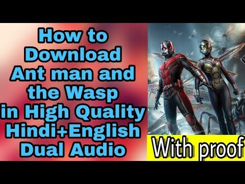 Download ant man and the wasp in Hindi || no clickbait