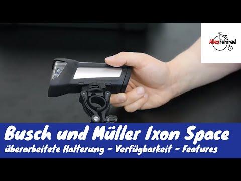 Ixon Space Busch und Müller - Fahrrad Akkulampe B&M - neue Halterung – Verfügbarkeit