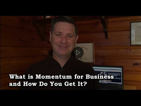 Watch 'What is Momentum for Business and How Do You Get It? - YouTube'