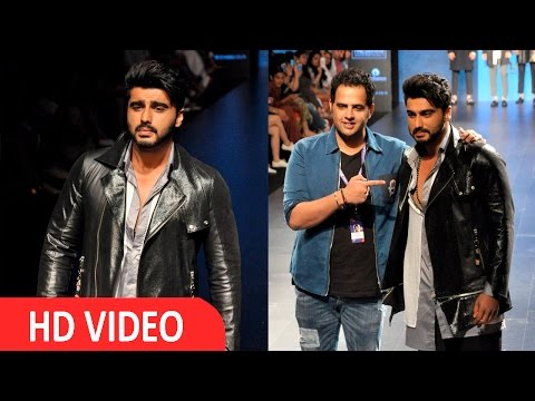 Arjun Kapoor On Ramp For Sahil Aneja At LFW 2016 UNCUT