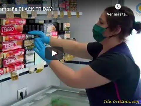 Isla Cristina: Campaña BLACK FRIDAY