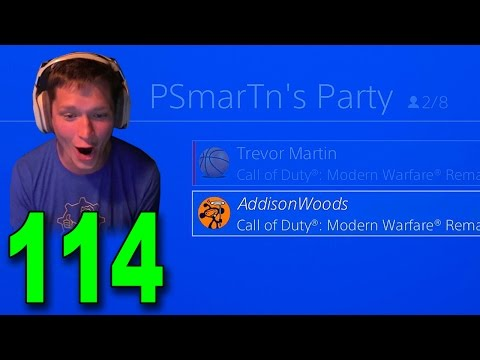 Modern Warfare Remastered GameBattles - Part 114 - Wait.. He Joined My Party?! 😂 (видео)