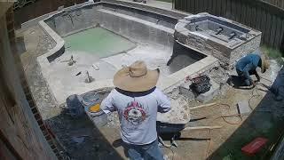 Video Riverbend Sandler Pools - Timelapse of Pool Build, Plano, TX MP3, 3GP, MP4, WEBM, AVI, FLV Agustus 2018