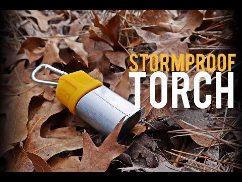 BEST Survival Lighter?? UCO Stormproof Torch