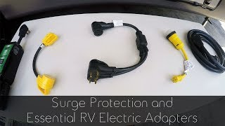 RV Surge Protection & Essential Electric Adapters