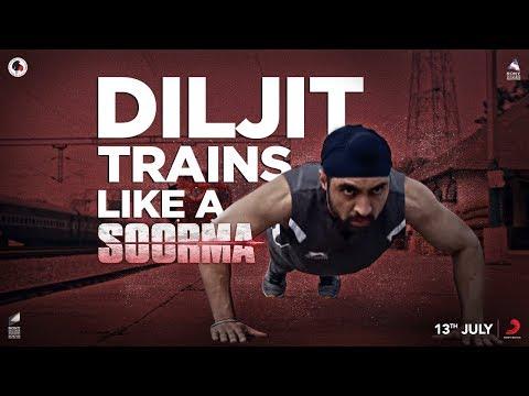 Diljit Trains Like a Soorma | Diljit Dosanjh | Taapsee Pannu | Sandeep Singh | Shaad Ali
