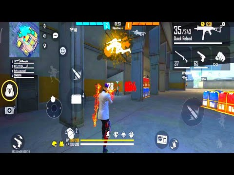 Garena Free Fire - CS Renked Gameplay | Free Fire Clash Squad | OP M1887 | Take And Gaming