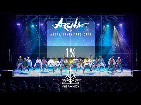 1% | Arena Singapore 2019 [@VIBRVNCY 4K] - Thời lượng: 5 phút, 3 giây.