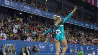 UEG Official – 7th European Men's and Women's Artistic Gymnastics Championships – Cluj Napoca (ROU), April 19-23, 2017. Maria Paseka (RUS), Qualifications Vault : 14.412 (Vault 1 : 14.166, Difficulty : 5.2, Execution : 8.966 ; Vault 2 : 14.658, Difficulty : 5.4, Execution : 9.258), 2nd qualification score.Follow the European Union of Gymnastics on its channels to stay up to date with their latest news!