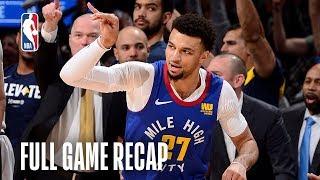 SPURS vs NUGGETS | Denver Defends Homecourt | Game 5 by NBA