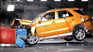 2012 Mercedes-Benz M-Class (W166): Crash Test