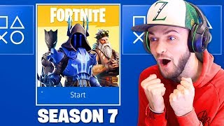 THIS is Fortnite: Season 7! (NEW SKINS)