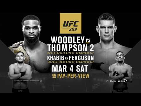 UFC 209: Fighting is Thompson Family Business