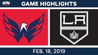 NHL Highlights | Capitals vs. Kings - Feb 18, 2019 by Sportsnet Canada