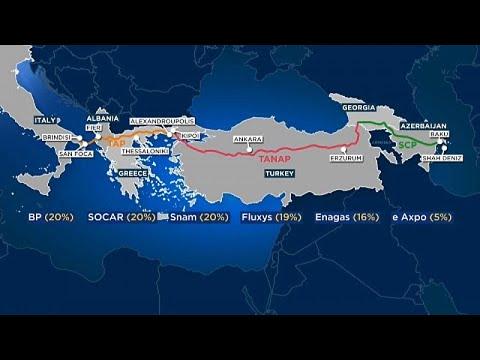 Ολοκληρώθηκε ο αγωγός ΤΑΡ-Συνεχίζονται οι αντιδράσεις στην Ιταλία…