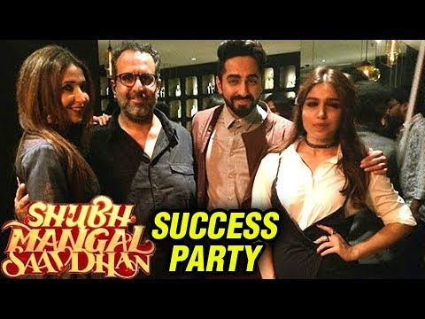 Shubh Mangal Saavdhan Success Party FULL VIDEO UNC
